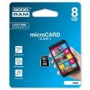 paměťová karta MicroSDHC 8GB