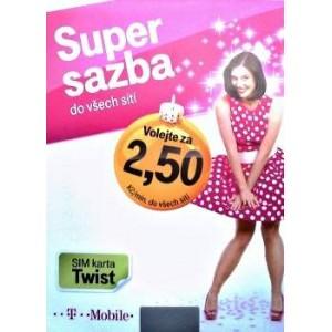 Twist SIM karta kredit 200 Kč